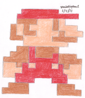 8 Bit Mario by MarioSimpson1