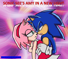 Sonic sees amy in a new light cover by CreativeAngelofGod