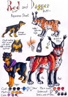 Red And Dagger Reference Sheet by ARVEN92