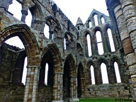 Whitby abbey remains by Estruda