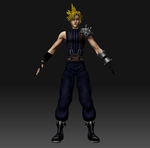 Final Fantasy VII - Cloud Strife Project by TulioMinaki