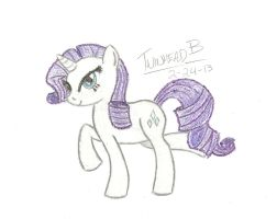 Rarity ~ Fabulous Crayola Creation by Twinhead-B