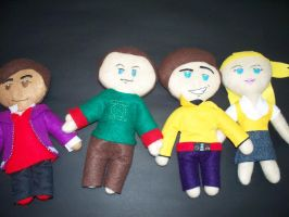 Big Bang Theory Plushies by bashstore
