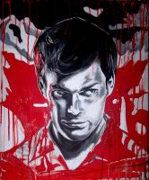 Bloody Dexter by cpn-blowfish