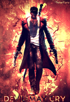 DmC Devil May Cry - Artwork by Solar11pro