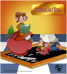 An American Tail 30th:  Frame Tray Remaster by WhiteLionWarrior