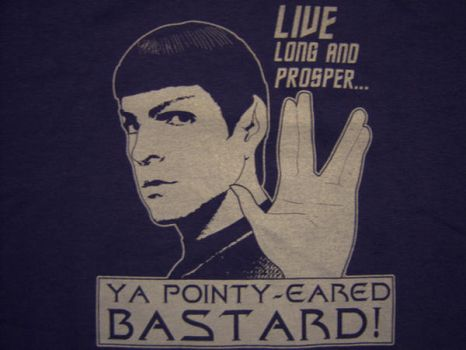 Spock, Star Trek by Hanger-18-shirts