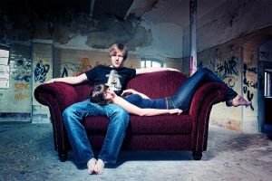 on couch by Kalterwind