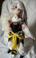 Lord Sesshomaru 2 by dollmaker88