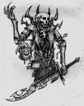 Ancient Rogue Lich by Riptide90k