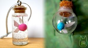 Zelda Fairy In A Bottle Necklaces (Tutorial) by studioofmm