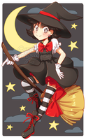 Magical Witch Killer Girl!!! by Bunnyloz
