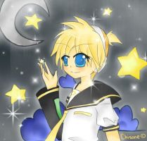 Len Kagamine by chisane
