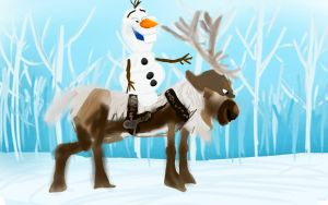 Sven and Olaf by Ruth-1