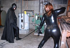 Batman vs Catwoman by cosplaynut