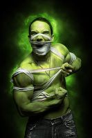 The Hulk by MBHenriksen
