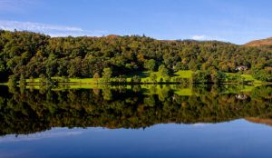 Grasmere Reflection by bongaloid