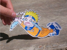 Paper Child Naruto by Angelic-Owl