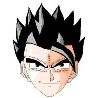 Son Gohan by Paint Brush by stormthor