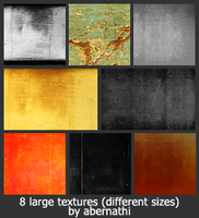 8 large textures by yawee