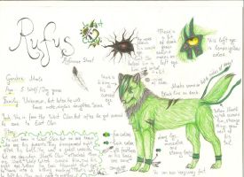 Rufus.:REF SHEET:. by Tanchie97