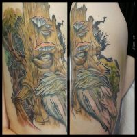 Treebeard by XeviousTheGreat