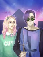 American Pastel Gothic by AmaneMiss