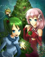 A Very Vocaloid Christmas by KanraKami
