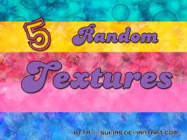 5 Random Texture PACK by Suki95