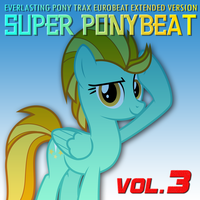 Super Ponybeat Vol. 3 Lightning Dust Cover Variant by TheAuthorGl1m0