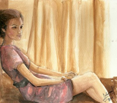 quick watercolour paint by AdriiUm