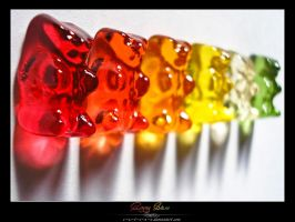 Gummy Bears by VeraCotuna
