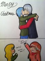 Christmas Present: Sam/Sage by The-SILENT-assistant