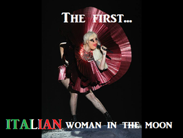 First ITALIAN woman in the moon by IraBlue11