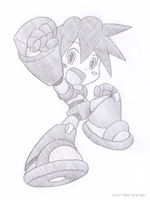 Mega Man Legends Powered Up by GreenMage