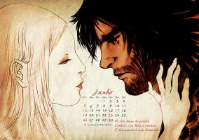 Calendar 2011: June by cynthiafranca