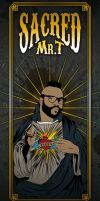 Sacred Heart of Mr. T by craniodsgn