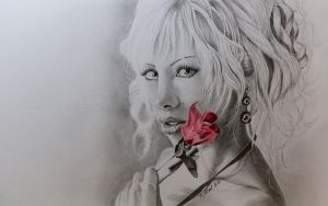 Rose by TinasArtwork