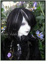 SOLD $555 Ball Joint Doll - Orchid by Sarah-Vafidis