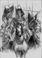 Caesar Arrives in Rome by clouded-ambition