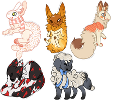 [Request] Chibi Batch 3 by alarmed-dingoes