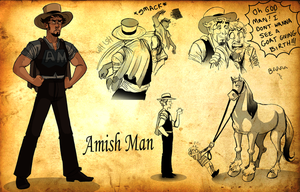 Amish Man by TitanicGal1912