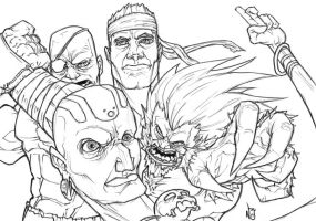 Street Fighter Tribute by nickybeats