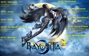 #OperationPlatinum Bayonetta 2 - Wii U Test by malerfique