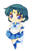 Sailor Mercury by mjoyart