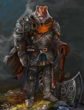Knight-tiger by A-Stas