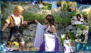 Tidus nd Yuna collage by YuriKoVIII