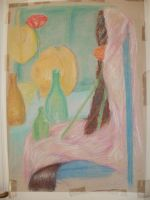 Still life in pastels by Lola-in-the-Black