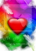 Colors of Love card by MrHighsky