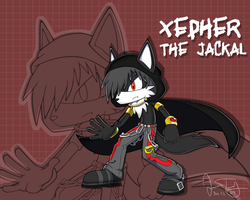 Xepher the Jackal by BlazeTBW